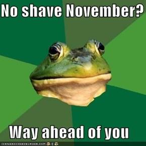 No Shave 2011