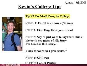 Take Note, Freshmen!