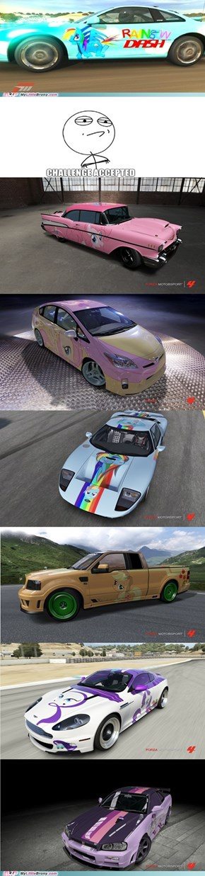 Forza 4: To Love and Tolerate the Buck Out of the Track