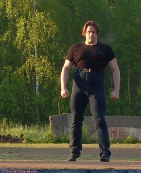 The Incredibly Hulk Invests in a Pair of Skinny Jeans