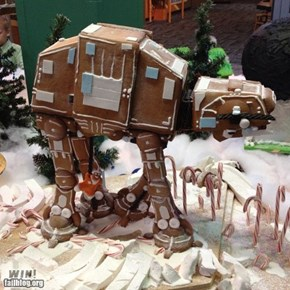 Gingerbread AT-AT WIN