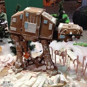 Gingerbread AT-AT WIN