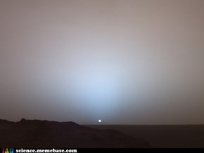 A Martian Sunset