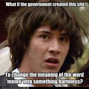 What if the government created this site
