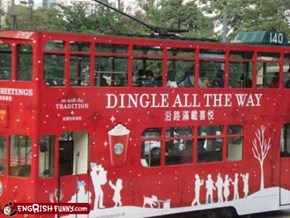 Engrish Funny: Dingle Bells, Dingle Bells, Dingle All the Way