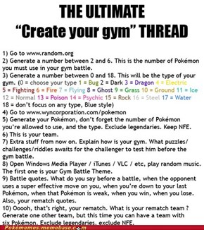 Create Your Gym