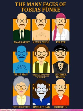 """Arrested Development"" Pop Culture Art"