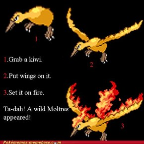 How to Get a Moltres in Three Easy Steps
