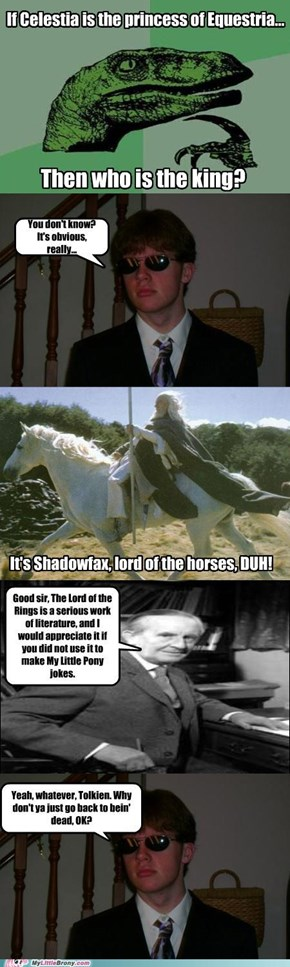 Seriously you coulda just asked Gandalf...