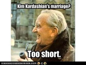 Kim Kardashian's marriage?