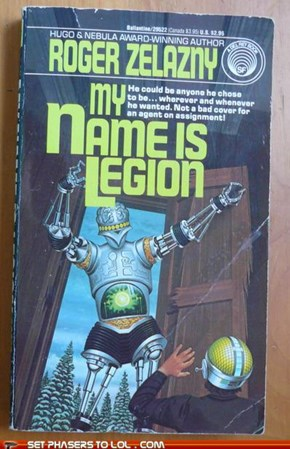 WTF Sci-fi Book Covers: My Name is Legion