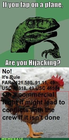 Rule 121.580, 91.11, 49 USC 46318, 49 USC 46504
