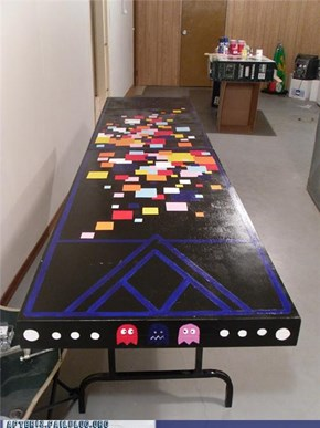 Beer Pac-Pong Table