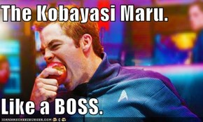 The Kobayasi Maru.  Like a BOSS.
