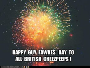 HAPPY  GUY  FAWKES'  DAY  TO ALL  BRITISH  CHEEZPEEPS !