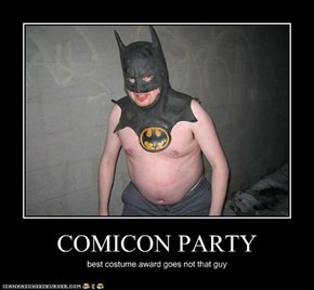 COMICON PARTY