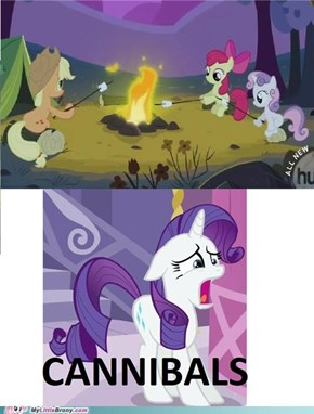 Sweetie Belle Really Hated Her Sister