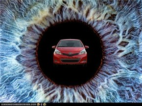 I see a Yaris in my iris
