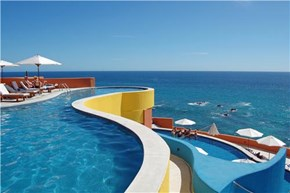 Pools with an Ocean View in Los Cabos, Baja California Sur, Mexico