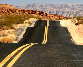 Endless Highway, Valley of Fire State Park, Nevada