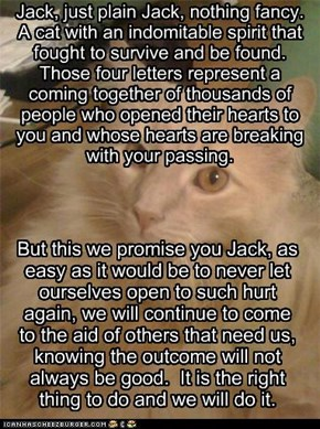 A promise to Jack