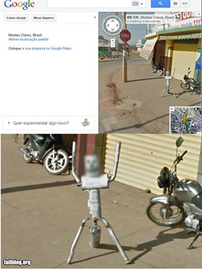 google maps Hidden Identity - FAIL