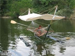 Hammock Boat WIN