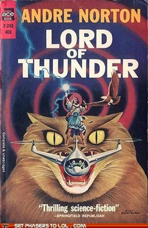 WTF Sci-fi Book Covers: Lord of Thunder