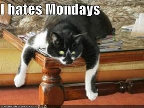 I hates Mondays