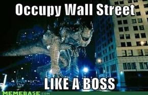 Occupy Jurassic Park