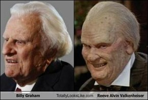 Billy Graham Totally Looks Like Reeve Alvin Valkenheiser