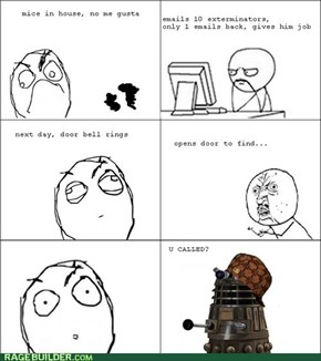 Scumbag Dalek Exterminates ALL the Things