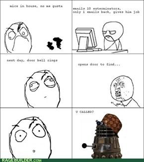 Scumbag Dalek Exterminates ALL the Things
