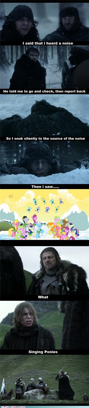 Game of Brones: Ponies Are Coming