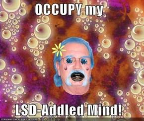 OCCUPY my  LSD-Addled Mind!
