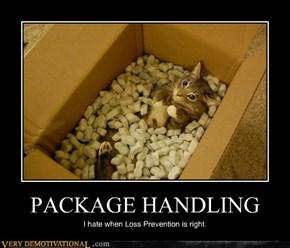 PACKAGE HANDLING