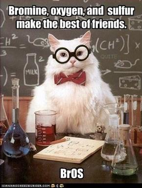 (Florine+oxygen)'+(Sulfur+holmium)',+(Bromine+Oxygen)= FO' SHo', BrO.