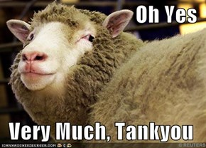 Oh Yes  Very Much, Tankyou