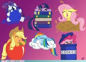 Chibi Ponies!