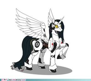 GLaDOS as a pony