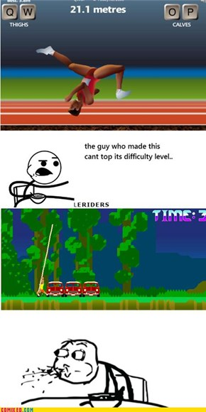 pole riders makes qwop look easy