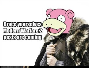 Modern modern warfare 2 posts are coming