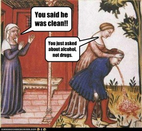 You said he was clean!!