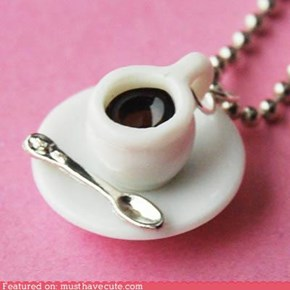 Dark Coffee Necklace