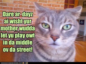 Dis is wun ov doze dayz!