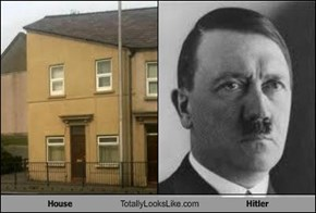 House Totally Looks Like Hitler