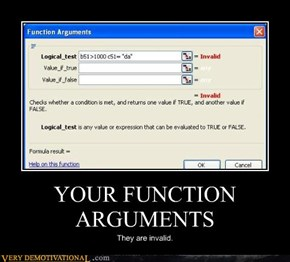 YOUR FUNCTION ARGUMENTS