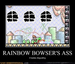 RAINBOW BOWSER'S ASS