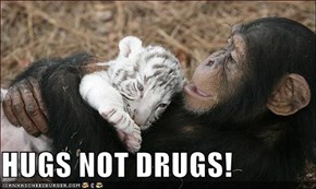 HUGS NOT DRUGS!