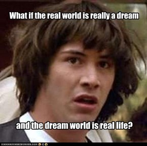 What if the real world is really a dream
